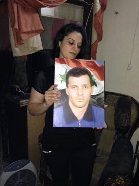Souad, 33 ans, veuve avec deux enfants.