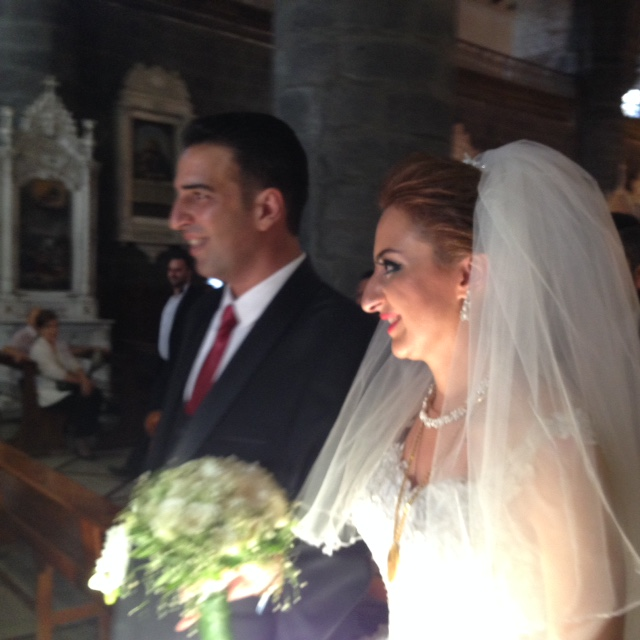 Mariage chrétien à Damas